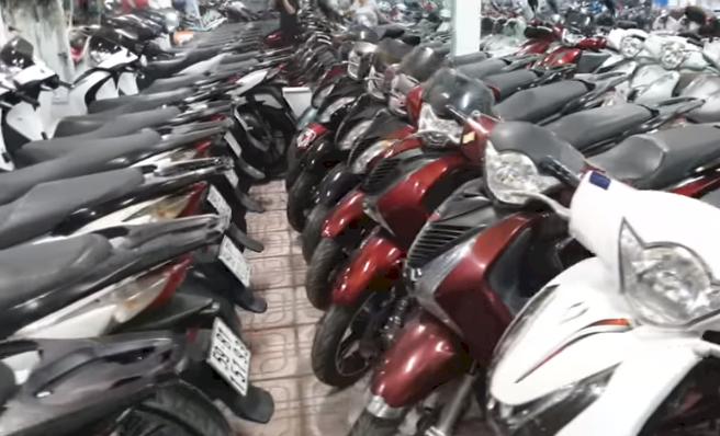 Định giá xe máy cũ tại các cửa hàng xe máy cũ Lũy Bán Bích